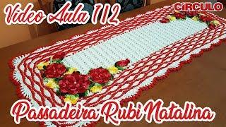 Download Passadeira Rubi Natalina em Crochê 1/2 Video