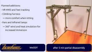 Download WoODT - DIY omnidirectional treadmill for VR Video