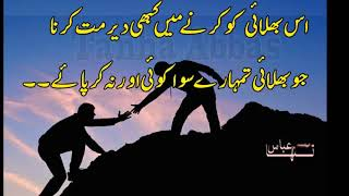 Download Most Heart Touching Precious Words By Tanha Abbas- Best Urdu Quotes Sayings Aqwal Video