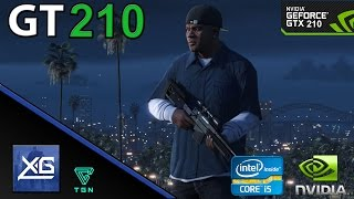 Download Grand Theft Auto V On Nvidia Geforce GT 210 1GB DDR3 | 600p | LOW | FPS - TEST Video