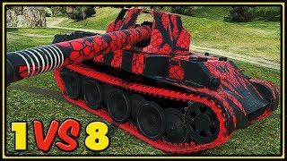 Download Rheinmetall Skorpion G - 11 Kills - 1 VS 8 - World of Tanks Gameplay Video