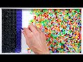 Download 1,600 Beads Sorted By Color Video