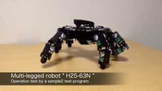 Download Hexapod robot turns cartwheels Video