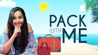 Download Packing For My Beach Vacation! | Pack with me | MostlySane Video