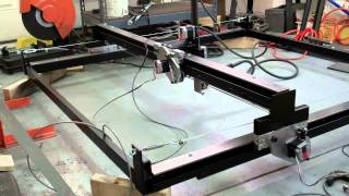 Download ″Dry″ run on the plasma CNC. Rapids software capped at 720 IPM Video