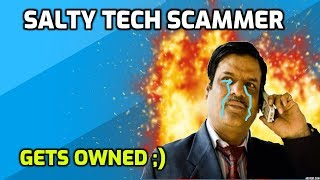 Download Salty Indian Tech Support Scammer Owned! Video