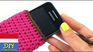 Download Merajut sarung hp yang cantik untuk semua jenis dengan warna pink dan Video
