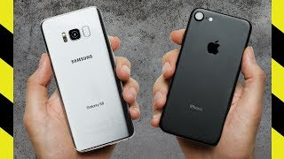 Download Galaxy S8 vs. iPhone 7 Drop Test! Video