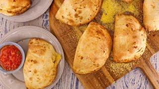 Download Mini Sausage, Mushroom and Cheese Calzones Video