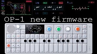 Download Teenage Engineering OP-1 testing out new firmware #218 Video