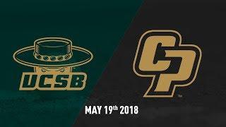Download Cal Poly vs. UC Santa Barbara, Baseball Highlights - May 19, 2018 Video
