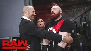 Download Bayley attempts to mend the rift between Sheamus & Cesaro: Raw, Jan. 30, 2017 Video