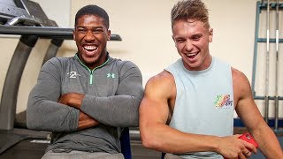 Download Q&A | MY NEW BOXING COACH: Anthony Joshua (RIP KSI) Video