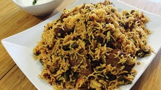 Download Lubia Pulao Recipe, Lobia Polo Video, Persian Rice Recipe, Lamb Lubia Polo, One pot Rice recipe Video