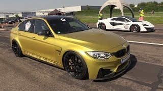 Download 650HP BMW M3 F80 vs Mclaren 570GT vs Nissan GT-R R35 Video