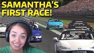 Download Samantha's iRacing career begins! Video