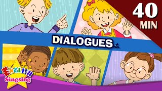 Download Good morning+More Kids Dialogues | Learn English for Kids | Collection of Easy Dialogue Video