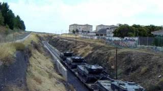 Download Mérida, 333.3 + 333.3 + material militar San Gregorio - Badajoz Video