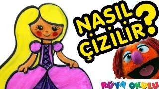 Download Rapunzel Nasıl Çizilir? - Prenses 2 - Resim Çizme - RÜYA OKULU Video