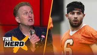 Download Michael Rapaport talks Browns QB Baker Mayfield on HBO's Hard Knocks, LeBron's Cavs drama | THE HERD Video