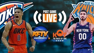 Download Knicks No Match For OKC On MLK Day  LIVE Post Game Fan Reaction & Phone In  Knicks Trade Talk 🏀 Video