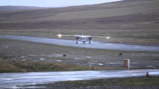 Download This is what I call '' Crosswind Landing'',Islander at Tingwall Airport, Shetland. Watch HD Video