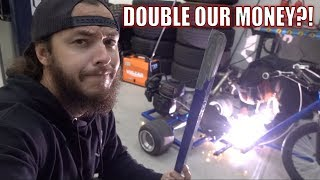 Download CAN WE FLIP OUR HORRIBLE OfferUP DRIFT TRIKE?! Video