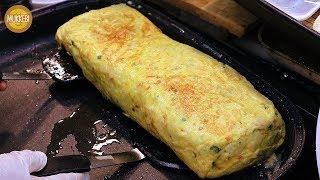 Download 의정부 제일시장 │ 대왕 계란말이 │ Giant Rolled Omelette │ 한국 길거리 음식 │ Korean Street Food Video