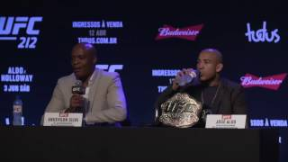 Download UFC 212 Press Conference Video