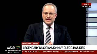 Download Legendary musician Johnny Clegg has died Video