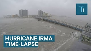 Download This time-lapse shows Hurricane Irma slamming Miami Beach Video