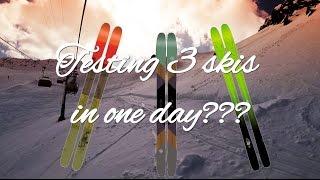 Download 3 skis in one day?! K2 ski test #VLOG12 Video