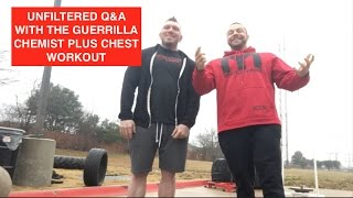 Download Guerrilla Chemist UNFILTERED Q&A SARMS, Creatine, Keto and More! PLUS Chest Workout Video