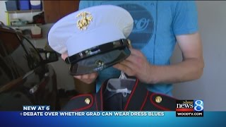 Download Marine: High school said to change out of uniform before ceremony Video