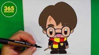 Download COMO DIBUJAR A HARRY POTTER KAWAII - Dibujo faciles Video