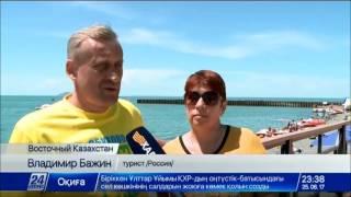 Download Настоящий туристический бум ожидается на озере Алаколь Video