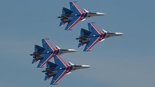 Download Russian Knights Power, Precison & Flat Spin - LIMA 2019 Video
