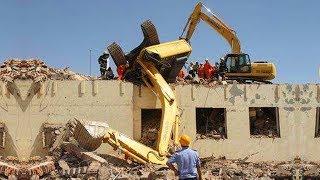 Download WOW! IDIOTS Heavy Equipment Trucks Excavator Skills Fail - Loader Excavator Fail Video
