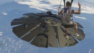 Download GTA 5: Fort Zancudo UFO Gameplay Clip Video