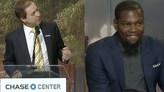 Download Kevin Durant BEGGED to Re-Sign with Warriors by Owner Joe Lacob Video