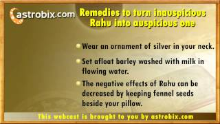 Download Lal kitab remedies for Rahu - Lal kitab totke for ashubh Rahu - Vedic Astrology Video