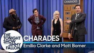 Download Charades with Emilia Clarke and Matt Bomer Video