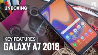 Download Samsung Galaxy A7 (2018) unboxing and key features Video