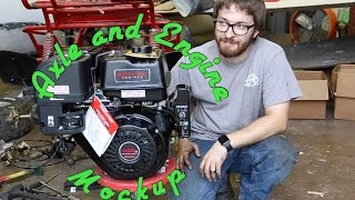 Download Kart-It: GoPowerSports OffRoad Gokart Build Axle Mod and Engine Mockup Video