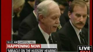 Download US Airways Pilot Capt. ″Sully″ Sullenberger Speaks to Congress: ″My Pay Has Been Cut by 40%″ Video