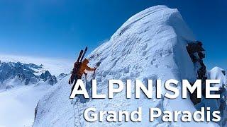 Download Grand Paradis Traversée Arête Est voie Normale alpinisme ski de randonnée montagne Video