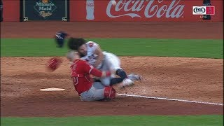 Download BONE CRUNCHING MLB Home Plate Collisions || COMPILATION Video
