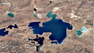 Download Google Timelapse: Tibet Lake Video