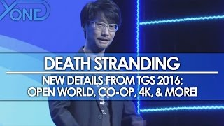 Download Death Stranding - New Details from TGS 2016: Open World, Co-Op, 4K, & More! Video