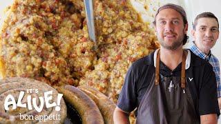 Download Brad Makes Mustard   It's Alive   Bon Appétit Video